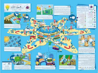 نقشه راهنمای طرح جامع شهرک انرژی